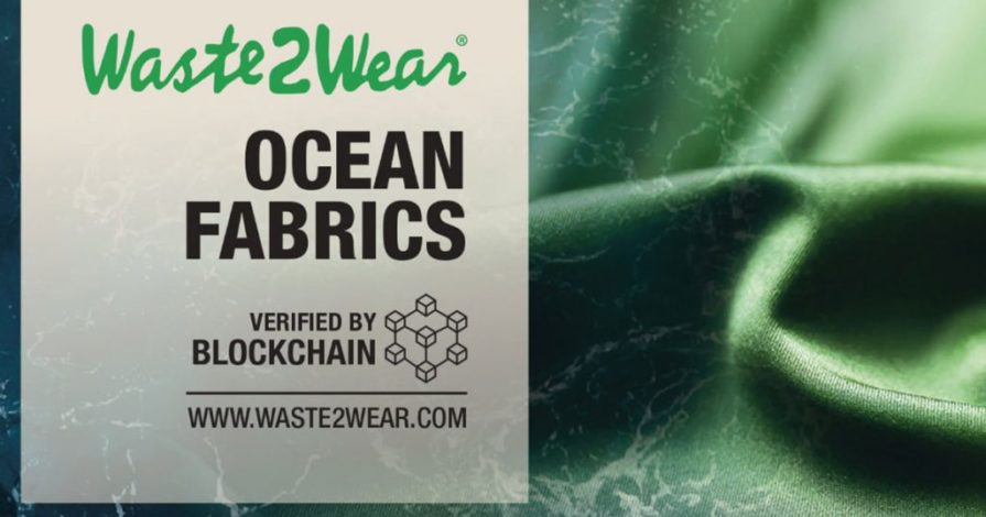 Wate2wear Ocean Recycled Fabric Blockchain