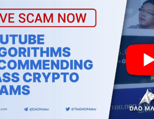 YouTube Fake Crypto Giveaways Explained - Derrière le compte Hacks